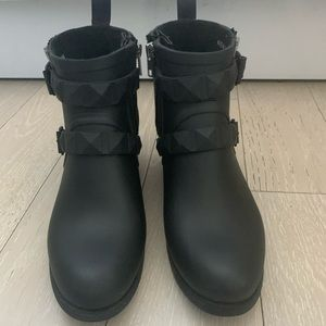 Rebecca Minkoff Ankle Rain Boots Waterproof - 9